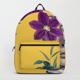 Floral Portrait 2 Backpack