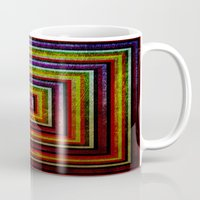 grunge Mugs featuring Grunge by Fine2art