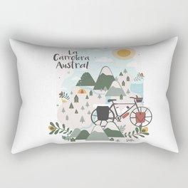 La Carretera Austral Rectangular Pillow