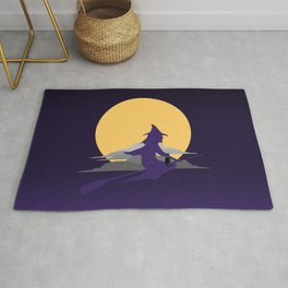 Witch & Moon Rug