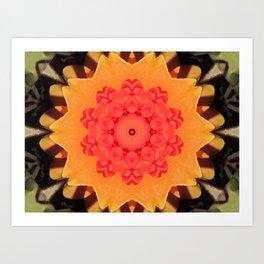 Kaleidoskop Flower Art Print