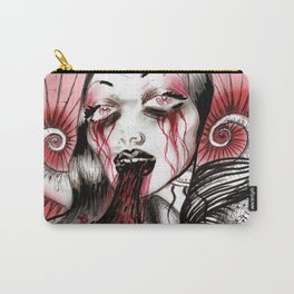 Luce And Unicorn Carry-All Pouch