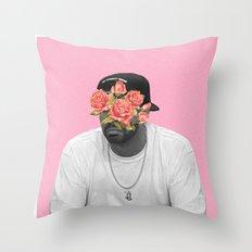 DRAKE // FLORAL Throw Pillow