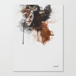 Brown Moth I Canvas Print