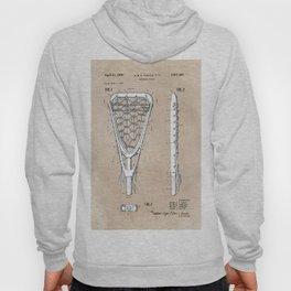 patent art Tucker Lacrosse stick 1967 Hoody