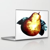pear Laptop & iPad Skins featuring Pear by Soulmaytz