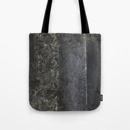 collage black Tote Bag