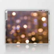 Bokeh Rain Laptop & iPad Skin