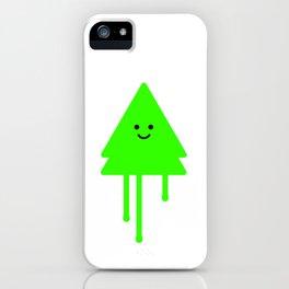 Happy Xmas Tree iPhone Case