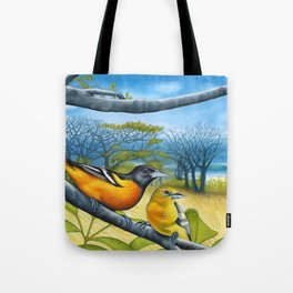 Surf Report Tote Bag