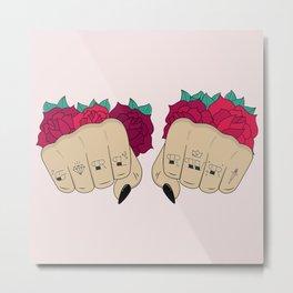 Fists / GRL PWR Metal Print