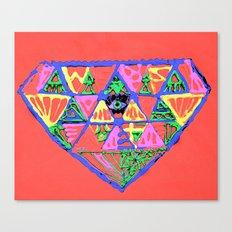 đeyemond vi§ion Canvas Print
