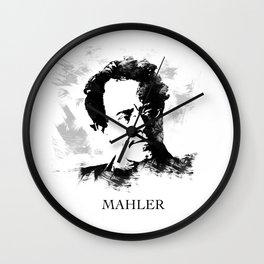 Gustav Mahler Wall Clock