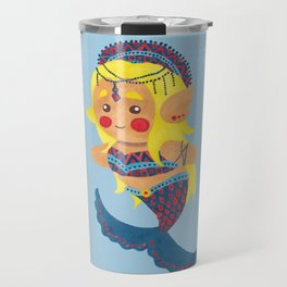 The Mermaid Princess Travel Mug