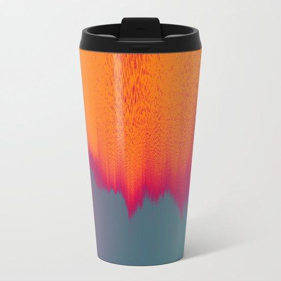 Solar Flare Metal Travel Mug