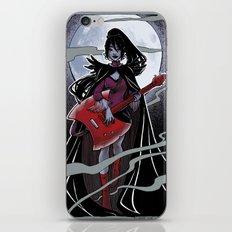 Night of the scream queen II iPhone & iPod Skin