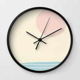 Nordic Sun Wall Clock