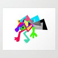 Monsta! Art Print