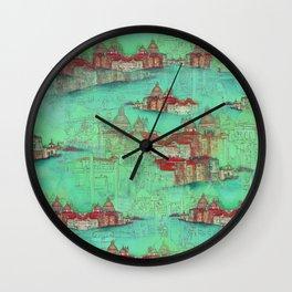 Venetian Green Wall Clock