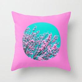 spring tree XIX Throw Pillow