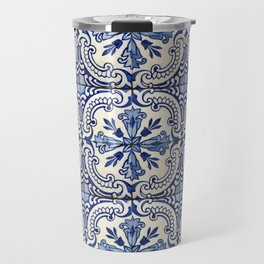 Azulejo — Portuguese ceramic #14 Travel Mug