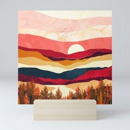 Scarlet Spring Mini Art Print
