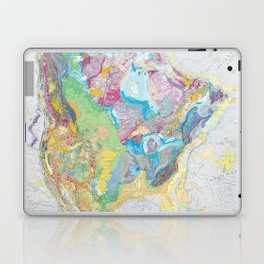 USGS Geological Map of North America Laptop & iPad Skin