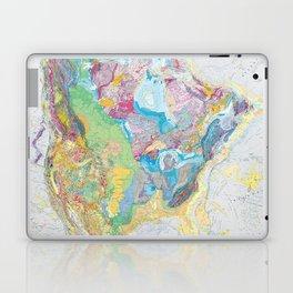 USGS Geological Map of North America Laptop & iPad Skin