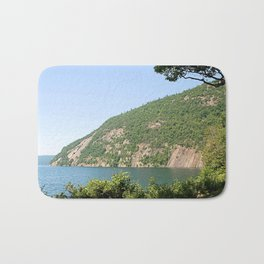 Roger's Rock on Lake George, NY Bath Mat