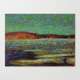 Tom Thomson Ice Reflections, Spring 1916 Canadian Landscape Artist Canvas Print