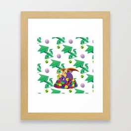 Paws Off Moneybags! Framed Art Print