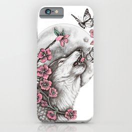 Call Of The Wolf iPhone Case