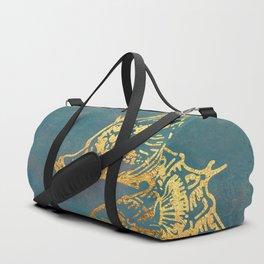 Deep Sea Life Seahorse Duffle Bag
