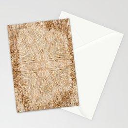 Petrified Wood Kaleidoscope Stationery Cards