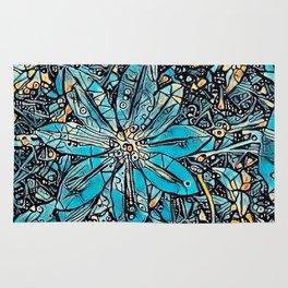 Clematis Blue Fantasia Rug