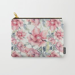 Autumn Peonies Carry-All Pouch