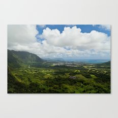 The Pali Lookout Canvas Print