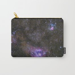 Lagoon and Trifid Nebula in Sagitarius Carry-All Pouch
