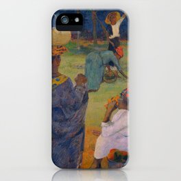 """Paul Gauguin """" Among the mangoes at Martinique"""" iPhone Case"""
