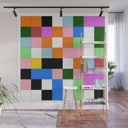 "Math Art Digital Print - ""ColoRs foR a laRge wall"" Wall Mural"