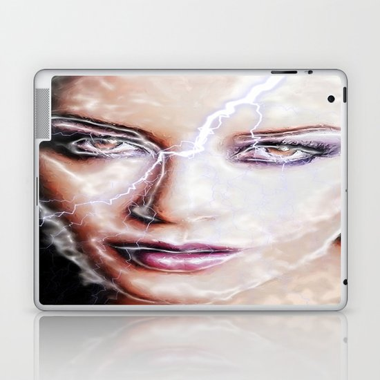 Shes Electric Laptop & iPad Skin