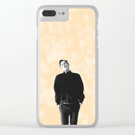 Aaron Tveit 14 Clear iPhone Case