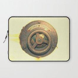 Vintage power switch 2 Laptop Sleeve