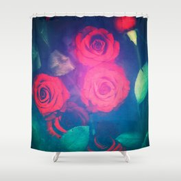 Rose Red Shower Curtain