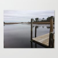 new jersey Canvas Prints featuring New Jersey  by Gina R Furnari