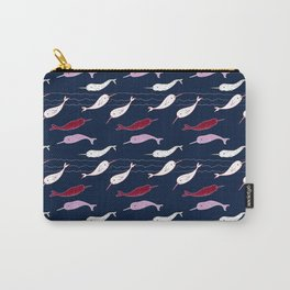 Unicorns of the Sea Carry-All Pouch
