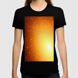 Golden Sun Stars T-shirt