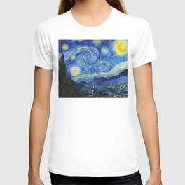 Van Gogh - Starry Night - High resolution T-shirt