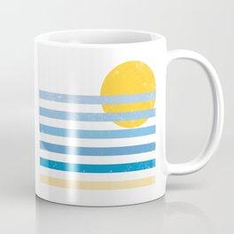 Sunset Ocean Kaffeebecher