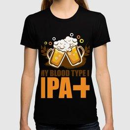 IPA+ Funny Craft Beer Tee T-shirt